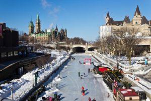 canada carreteras pistas de hielo