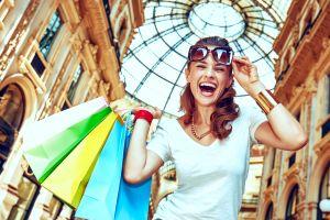 So klingt ein perfekter Shopping-Tag in Mailand.