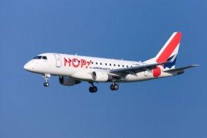 HOP! Air France ré-ouvre sa ligne  Paris Orly - La Rochelle