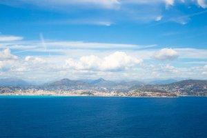 Aéroport de Nice : élue plus belle vue à l'atterrissage