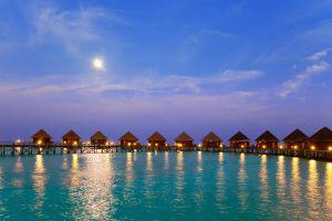 Hotel sommerso alle Maldive