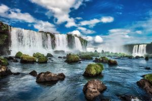 Picturesque places in Brazil