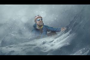 Ein Bergsteiger und seine Geschichte von  der  außergewöhnlichen Kraft des menschlichen Geistes