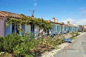 Pas de voiture sur l'île d'Aix, que des vélos