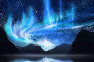 una tenda per vedere l'aurora boreale