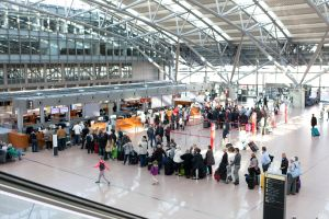 Hamburger Flughafen nach Stromausfall