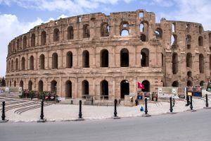 Voyage en Tunisie au colisée d'El Jem