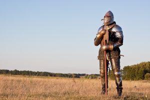 Visite de la Bretagne en armure
