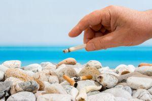Le gouvernement dit stop aux mégots sur les plages