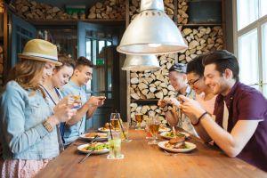 No smartphone ristoranti New York arriva moda cena tech free