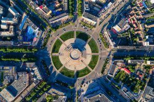 Ein Feld, das in China zu einem riesigen Mandala wurde!