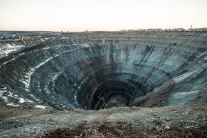 incroyable Mine Mir Russie