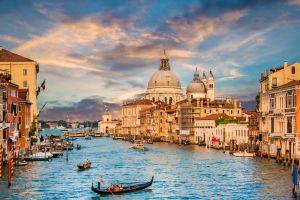 Venedig oder die Schwimmende Stadt in der Lagune