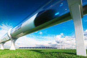 Piste d'essai de l'Hyperloop dans le Limousin