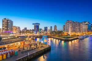 Rotterdam Recycled Park, l'Olanda trasforma in fiori i rifiuti galleggianti