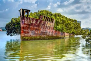 You don't need to scuba dive to see these 15 spectacular shipwrecks