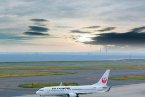 Japan Airlines destination Seattle