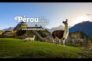 Le Pérou s'invite dans votre assiette pendant une semaine