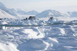 Découverte d'un cratère impressionnant au Groenland