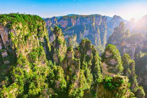 Le meraviglie del Parco Forestale Nazionale Zhangjiajie, in Cina