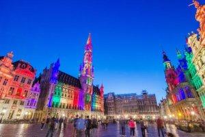 San Valentino - Bruxelles si veste di luci per festeggiare l'amore!