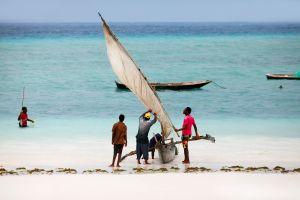Un bateau réalisé à partir de déchets plastiques vogue jusqu'à Zanzibar