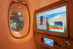 En 2022, Emirates disposera d'une connectivité au-dessus du pôle Nord