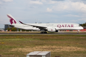 Qatar Airways déploie son A350-1000 vers Paris