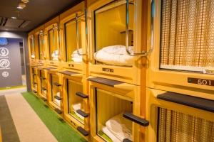 L'aéroport de Washington propose des cabines pour faire la sieste