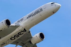 Le premier Airbus A350 d'Air France a décollé