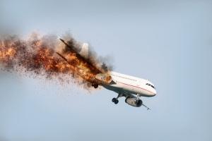 Un A330 d'Air China détruit par un incendie