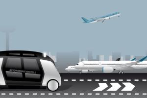 Une navette autonome reliera Roissy-CDG à la Défense pour les Jeux Olympiques 2024