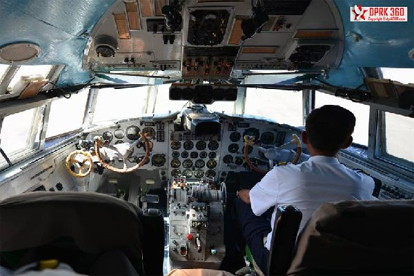 cockpit d'Air Koryo