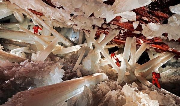 Höhle der Riesenkristalle