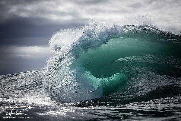 Rouleau pour surfer en Australie