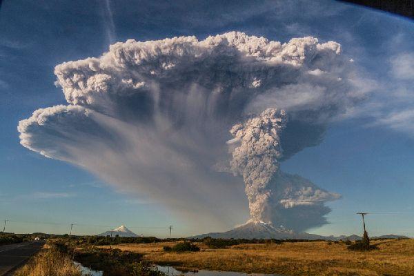 Eruption du Calbuco au Chili