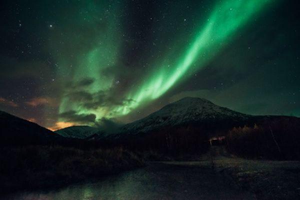 Fascinant phénomène lumineux