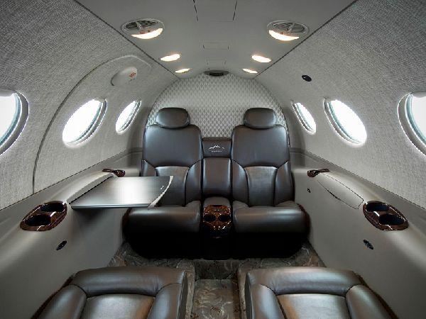 Voici des int rieurs de jets priv s incroyables easyvoyage for Interieur jet prive