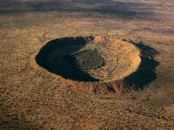 L'impressionnant cratère de Wolfe Creek en Australie