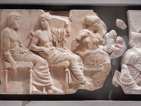 Atenas y la diosa Atenea
