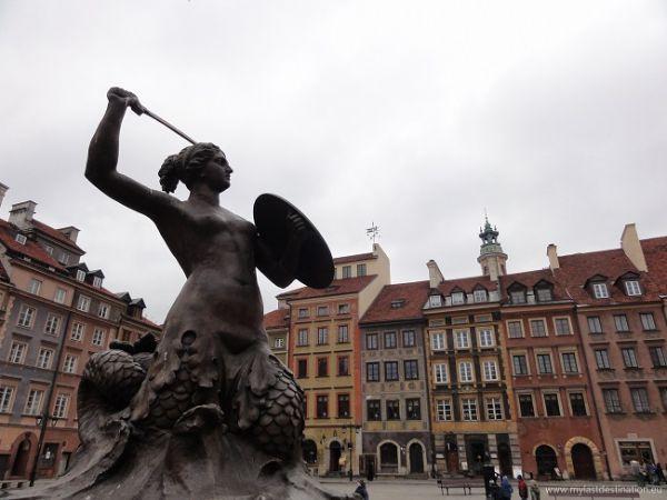 Varsovia y la sirena