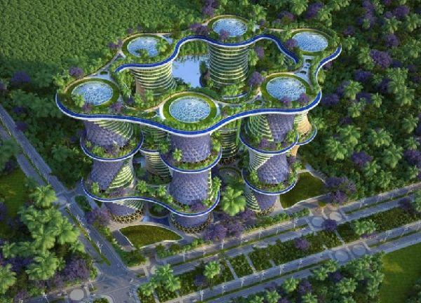 Quand l 39 cologie rejoint l 39 architecture easyvoyage - Immeuble ecologique ...