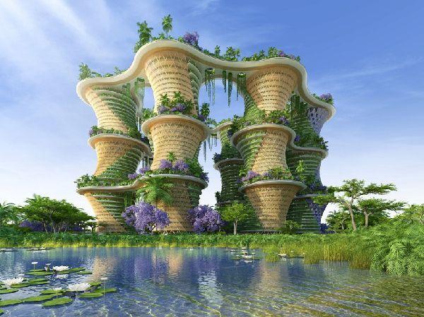 El futuro Hyperions, un barrio ecológico en Nueva Delhi 4