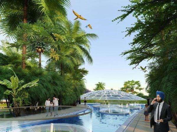 El futuro Hyperions, un barrio ecológico en Nueva Delhi 6