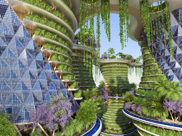El futuro Hyperions, un barrio ecológico en Nueva Delhi 8