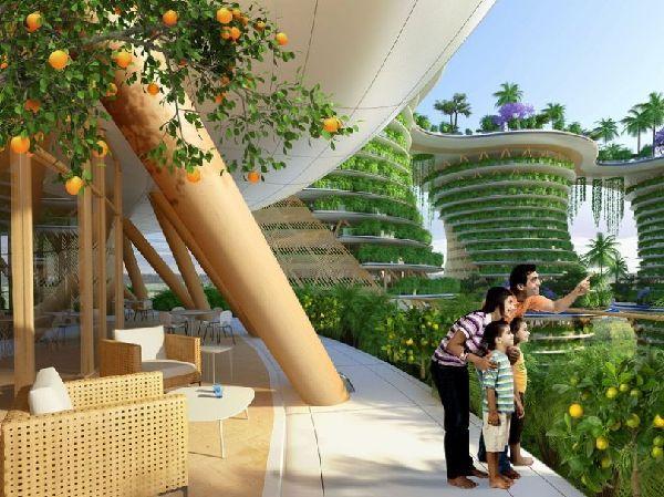 El futuro Hyperions, un barrio ecológico en Nueva Delhi 10