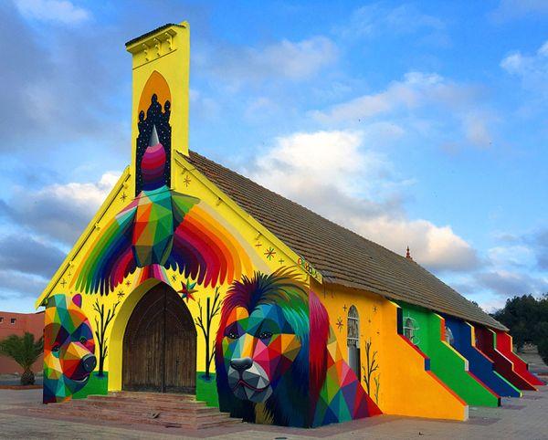 El arte urbano le ha dado vida
