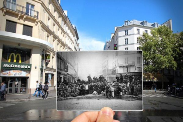 12 photos that encompass Paris\' past and present - Easyvoyage