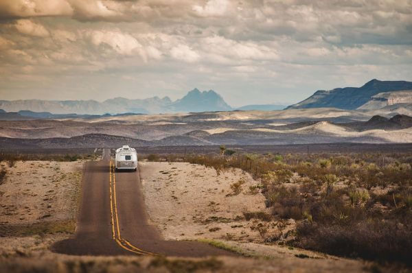 En route vers le Parc national de Big Bend (Texas)