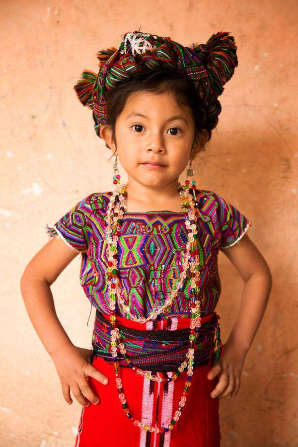 Ixil Maya girl